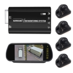 DV360-3DBS-VAN 360 Seamless Surround View Digital Video Recorder for Cargo Van(3D+1080P) SONY225 Chips