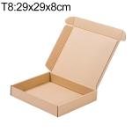 Kraft Paper Shipping Box Packaging Box, Size: T8, 29x29x8cm