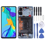 LCD Screen and Digitizer Full Assembly with Frame for Huawei P30