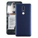 Battery Back Cover for Nokia 5.1 / TA-1061 TA-1075 TA-1076 TA-1088(Blue)