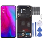 Original LCD Screen and Digitizer Full Assembly with Frame for OPPO Reno (Black)