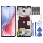 Original LCD Screen and Digitizer Full Assembly with Frame for OPPO Reno Z (Black)