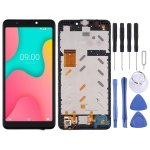 LCD Screen and Digitizer Full Assembly with Frame for Wiko Y60 (Black)