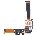 Charging Port Flex Cable with SIM Card Holder Socket For Nokia 8 Sirocco