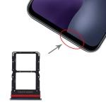 SIM Card Tray + SIM Card Tray for Xiaomi Mi 10 Lite 5G (Black)