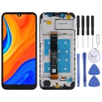 LCD Screen and Digitizer Full Assembly with Frame for Huawei Y5 (2019) / Y6s (2019)(Black)