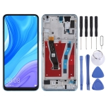 LCD Screen and Digitizer Full Assembly with Frame for Huawei P smart Pro 2019 (Blue)
