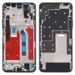 Original Middle Frame Bezel Plate for Huawei Honor X10 5G (Blue)