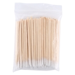 100 PCS / Pack Singal Head Cotton Swab Cleaning Tools