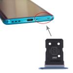 SIM Card Tray + SIM Card Tray for OPPO Find X2 (Blue)