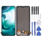 Original AMOLED Material LCD Screen and Digitizer Full Assembly for Xiaomi Mi 10 Lite 5G