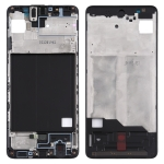 Front Housing LCD Frame Bezel Plate for Samsung Galaxy A51 (Black)