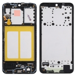 Front Housing LCD Frame Bezel Plate for Samsung Galaxy A10e (Black)