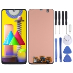 Super AMOLED Material LCD Screen and Digitizer Full Assembly for Samsung Galaxy M31 (Black)