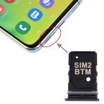 SIM Card Tray + SIM Card Tray for Samsung Galaxy A80 (Black)