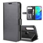 For Motorola Moto G Power R64 Texture Single Horizontal Flip Protective Case with Holder & Card Slots & Wallet& Photo Frame(Black)