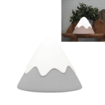 Snow Mountain Night Light Atmosphere Lamp Creative Bedside LED Lamp(Gray)