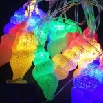 3m 20 LEDs USB Power Small Conch Creative LED Light String Home Room Holiday Decoration(Colour Light )