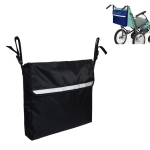 Storage Bag for Wheelchairs Disabled Car Storage Hanging Bag(Black)