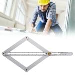 Multi-function Diagonal Ruler Protractor Corner Angle Finder, Ordinary Version