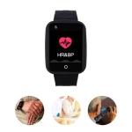 REACHFAR RF-V46-A GPS Smart Tracker WatchBand, Support SOS / Camera / Health Management / 4G LTE / Blood Pressure / Heart Rate(Black)
