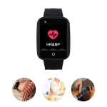 REACHFAR RF-V46-B GPS Smart Tracker WatchBand, Support SOS / Camera / Health Management / 4G LTE / Blood Pressure / Heart Rate (Black)