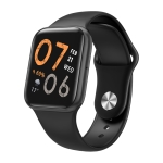 P80 Pro 1.54 inch TFT Screen Smart Watch, Support Bluetooth Call / SOS Call / Heart Rate Monitoring / Sleep Monitoring / Pedometer (Black)