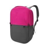 POFOKO XY Series 13.3 inch Fashion Color Matching Multi-functional Backpack Computer Bag, Size: S (Rose Red)