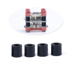 100 PCS iFlight M2 5mm Damping Standoff 20×20 Flytower Shock Absorber Rubber Column Separation Pillar for FPV Race Drone