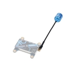 iFlight SIGMA 5.8G 500MHz 2dbi MMCX Image Transmission Antenna Left Hand for FPV Racing RC Drone Freestyle Toothpick Cinewhoop(Blue)