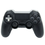 Wireless Game Controller Gamepad for Sony PS4, Windows Computer Laptop PC (Black)