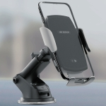 WK WP-U44 Max Wireless Charger Car Single Pull Suction Cup Phone Holder