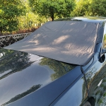 Car Folding Sunshade Front Gear Oxford Cloth Brace Snow Cover, Size: 162cm x 100cm
