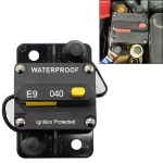 Off-road Vehicle / Automatic 40A Manual Circuit Breaker Overcurrent Protector