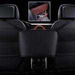 Car Front Seat Hanging Bag Storage Bag (Black)