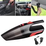 Car / Household Wireless Portable 120W Handheld Powerful Vacuum Cleaner without LED Light EU Plug(Black)