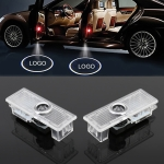 2 PCS DC12V / 2W Car Door Logo Light Brand Shadow Lights for Land Rover