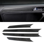 Car Carbon Fiber Door Panel Decorative Sticker for Volkswagen Tiguan L