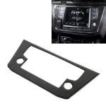 Car Carbon Fiber Navigation Frame Decorative Sticker for Volkswagen Tiguan L, Low Configuration