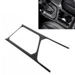 Car Carbon Fiber Water Cup Holder Frame Decorative Sticker for Volkswagen Tiguan L