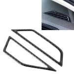 Car Carbon Fiber Dashboard Air Outlet Frame Decorative Sticker for Volkswagen Tiguan L