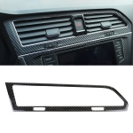 Car Carbon Fiber Central Control Air Outlet Frame Decorative Sticker for Volkswagen Tiguan L