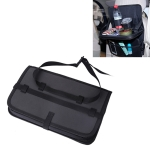 Oxford Cloth Car Auto Back Seat Folding Table Drink Food Cup Tray Holder Stand Desk Multi-purpose Travel Dining Tray