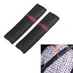 1 Pair Car Seat Belt Covers Shoulder Pads Auto Seat Belt Shoulder Protection Padding, Style: Short