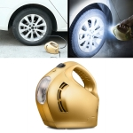 DC 12V 100W Four In One Portable  Car Tire Pump Inflatable Pump(Gold)