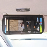 Multifunctional Car Sun Visor Car Card Bag Storage Bag