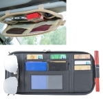Universal Car Multi-functional Sun Visor Card Clip Bags Glasses Bill Clip Holder (Black)