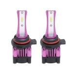 2 PCS F6 9012 DC9-32V 26W 6500K 3000LM Car / Motorcycle LED Headlight Lamps / Fog Light (Purple)
