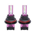 2 PCS F6 9007 DC9-32V 26W 6500K 3000LM Car / Motorcycle LED Headlight Lamps / Fog Light (Purple)