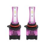 2 PCS F6 9005 DC9-32V 26W 6500K 3000LM Car / Motorcycle LED Headlight Lamps / Fog Light (Purple)